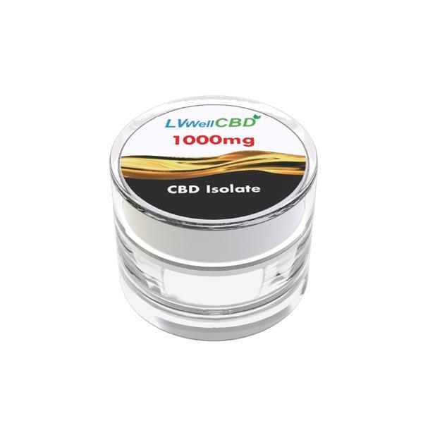 LVWell 1000mg CBD Isolate
